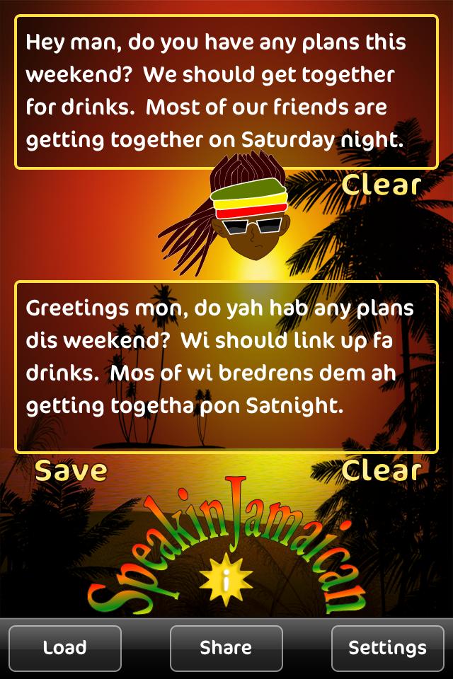 Speakin Jamaican Iphone Screenshot 2 Of 3
