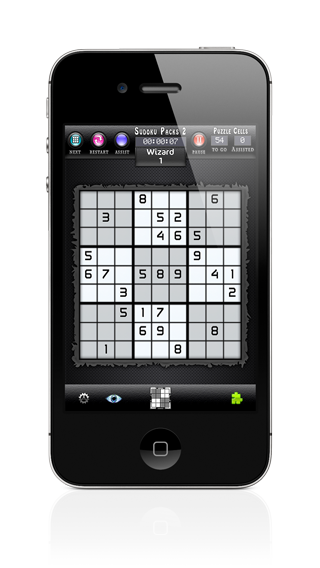 Sudoku Packs iPhone Screenshot 1 of 5