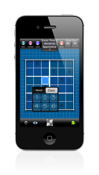 Sudoku Packs iPhone Screenshot 2 of 5